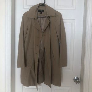 Mid Length Rain Coat